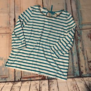 Chico's Stripped Top size 1